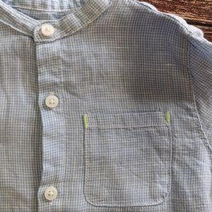 Zara Short Sleeve Dress Shirt